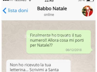crea finte chat su Whatsapp